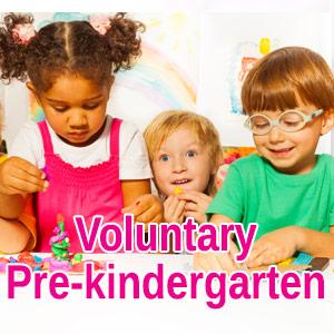 voluntary pre-k
